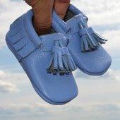 Corcik Makosen Bebek Ayakkabı Mavi Cv 138