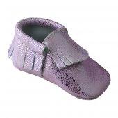 Klasik Makosen Bebek Ayakkabı Pembe Cv 93