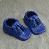Corcik Makosen Bebek Ayakkabı Saks Cv 97