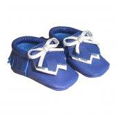 Navaho Makosen Bebek Ayakkabı Saks Mavi Cv 91