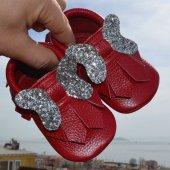 Sera Makosen Bebek Ayakkabı Kırmızı Cv 174