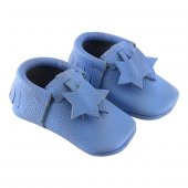 Yıldız Makosen Bebek Ayakkabı Mavi Cv 200