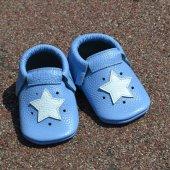 Yıldız Makosen Bebek Ayakkabı Mavi Cv 221