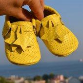 Yıldız Makosen Bebek Ayakkabı Sarı Cv 248