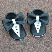 Smokin Makosen Bebek Ayakkabı Siyah Beyaz Cv 246