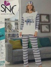 Welsoft Kadın Polar Pijama Takımı 4045