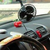 Araç İçi Mini Vakumlu Fan Pervane