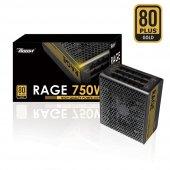 Power Boost 750w Siyah, 80+ Gold 12cm Fanlı Güç...