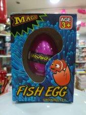 Suda Büyüyen Sihirli Sürpriz Yumurta (Küçük) Balık...