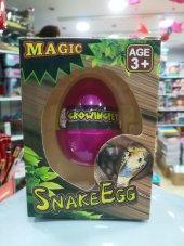 Suda Büyüyen Sihirli Sürpriz Yumurta (Küçük) Yılan...