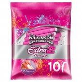 Wilkinson Sword Extra 2 Beauty 10 Adet Kullan At Tıraş Bıçağı