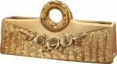 Lucky Art Altın Varaklı Dekoratif Çanta