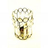 Lucky Art Dekoratif Mumluk Hediyelik Kristal Bardak Süs Eşyası