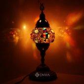 El Yapımı Mozaik Lamba Osmanlı Lamba Masaüstü Lamba Abajur