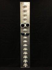 Duvara Monte Akrilik Gözlük Standı Şeffaf-3