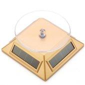 Güneş Enerjili Dönerli Stand (Gold)-2