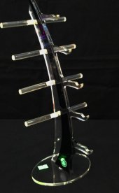 Pleksi Yelken Gözlük Standı Siyah-2