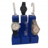 6Lı Set Mavi Saat Standı-2