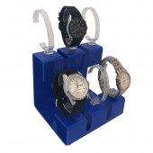 6Lı Set Mavi Saat Standı-3