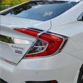 Honda Civic Fc5 2016 2019 Stop Çerçevesi Krom