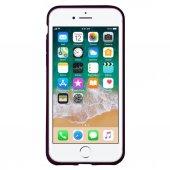 iPhone 7 Yumuşak İnce Silikon Arka Kılıf Mor-5