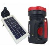 Everton Rt-906 Radyolu Usb Girişli Solar Işıldak Fener Projektör-3