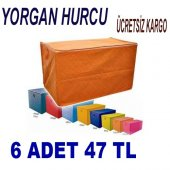 6 Adet Yorgan Hurcu 100*50*40