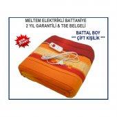 Meltem Battal Boy Çift Kişilik Elektrikli Battaniye