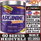 Big Joy L Arginine Powder 300 Gr Aromasız Toz...