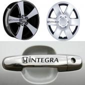 Honda İntegra Kapı Kolu Jant Sticker