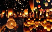 Dilek Feneri Dilek Balonu Gökyüzü Dilek Fener 3 Adet
