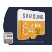Samsung EVO 64GB Micro-SD Class 10 Hafıza Kartı-5