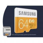 Samsung EVO 64GB Micro-SD Class 10 Hafıza Kartı-3