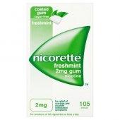 Nicorette 2 Mg Naneli Nikotin Sakızı 105 Adet