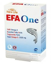 NewLife EFA ONE Omega 3 45 Kapsül