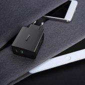AUKEY PA-Y9 USB C 25,5W Hızlı Şarj İphone X,Samsung 8-2