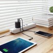 AUKEY PA-Y9 USB C 25,5W Hızlı Şarj İphone X,Samsung 8-3