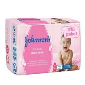 Johnsons Baby Parfümsüz Islak Mendil Eko 3lü 168li