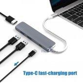 USB C 3.1 HDMI USBx2+Şarj Thunderbolt 3 Yeni MacBook Pro Touchbar