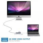 USB C 3.1 HDMI USBx2+Şarj Thunderbolt 3 Yeni MacBook Pro Touchbar-4