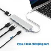 USB C 3.1 HDMI USBx2+Şarj Thunderbolt 3 Yeni MacBook Pro Touchbar-8