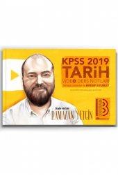 Benim Hocam Yayınları 2019 KPSS Tarih Video Ders Notları