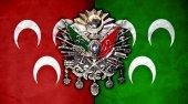 Osmanlı Arması Ve Üç Hilal Tek Parça Kanvas Tablo