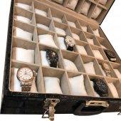 60lı Saat ve Takı Çantası Kroko Siyah-3