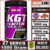 Hardline Kgt Caffein Creatine Kreatin Glutamin...