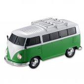 Yeni Işıklı Model Vosvos Minibüs Bluetooth Hoparlör Usb Aux Mp3