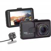 Kingboss Full Hd Geri Görüş Çift Kameralı Araç İçi Kamera