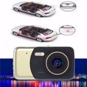4 İnç Full Hd Araç İçi Kamera Geri Görüş Park Kameralı-5