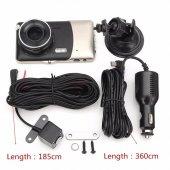 4 İnç Full Hd Araç İçi Kamera Geri Görüş Park Kameralı-6