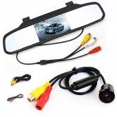 Audiomax 5 İnç Dikiz Ayna Monitör + Araç Geri Vites Kamerası